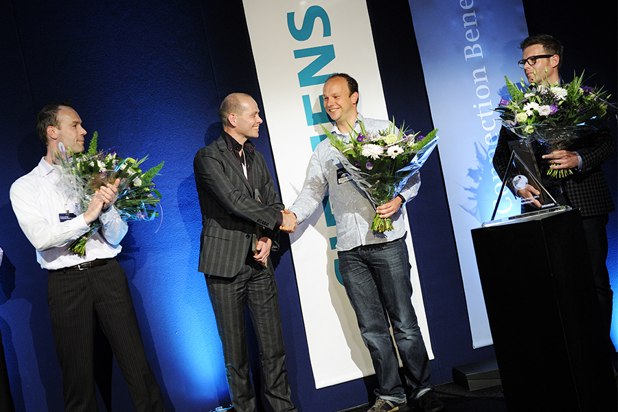 award-uitreiking Siemens PLM Connection Benelux 2012