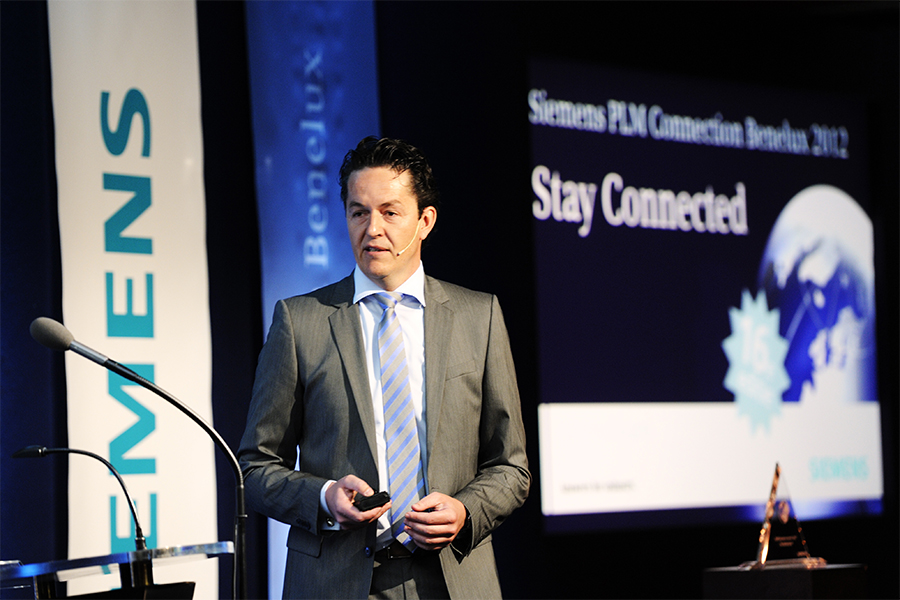 Siemens PLM Connection Benelux 2012 met Edwin Severijn
